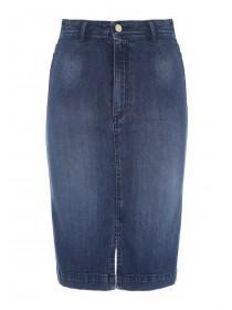 Jane Norman Denim Pencil Skirt
