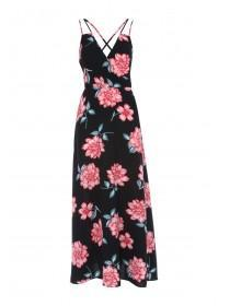 Jane Norman Floral Wrap Front Maxi Dress