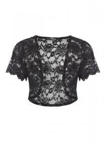 Jane Norman Black Lace Shrug