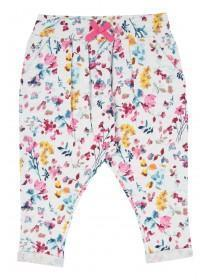 Younger Girls Harem Floral Joggers.
