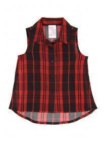 Younger Girls Tartan Blouse and Cami