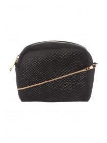 Womens Black Mini Crossbody Bag