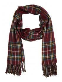 Womens Preppy Check Print Scarf