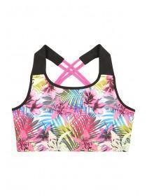 Older Girls Tropical Crop Top
