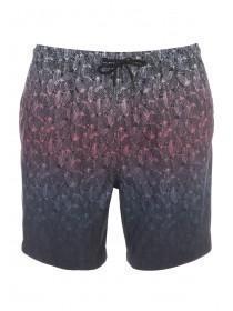 Mens Black Dipdye Swim Shorts