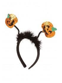 Orange Pumpkin Headband Boppers