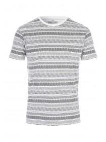 Mens White Aztec T-Shirt