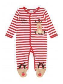 Reindeer Baby Sleepsuit
