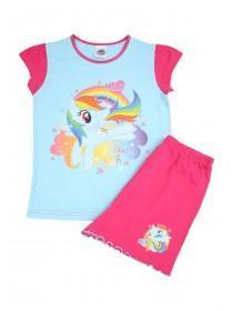Younger Girls Blue My Little Pony License Pyjamas Set