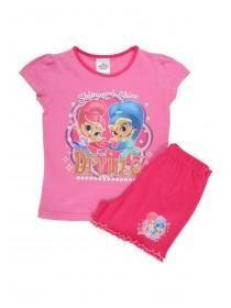 Younger Girls Pink Shimmer & Shine License Pyjamas Set