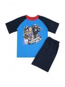 Younger Boys Blue Guardians Of The Galaxy Pyjama Set