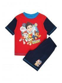 Younger Boys Red Paw Patrol License Pyjama Set