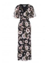 Womens Floral Maxi Dress