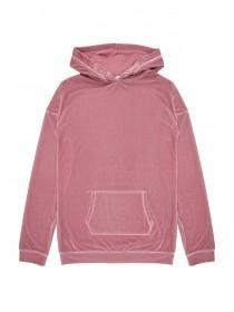 Older Girls Pink Hoody Dress