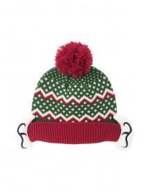 Mens Xmas Elf Beanie Hat