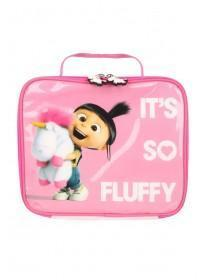 Girls Pink Despicable Me Lunch Bag