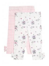 Baby Girls 2PK Printed Leggings