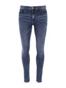 Mens Blue Super Skinny Jeans