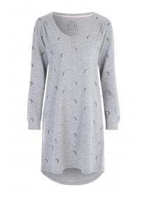 Womens Grey Moon Nightdress