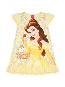 Younger Girls Yellow Belle Nightdress