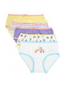 Younger Girls 5pk Briefs