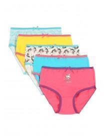Girls 5pk Unicorn Briefs