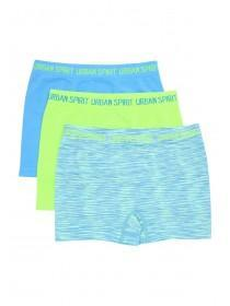 Older Boys 3pk Lime Green Trunks