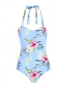 Womens Hawaiian Bandeau Swimsuit