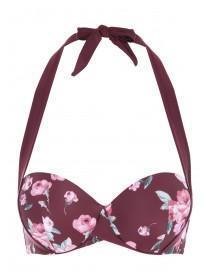 Womens Floral Bikini Top