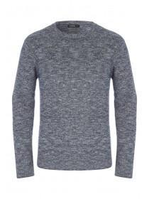 Mens Navy Long Sleeve Jumper