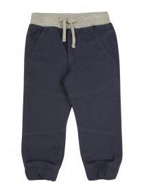 Younger Boys Blue Pull On Trousers