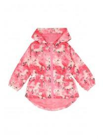 Younger Girls Pink Unicorn Cagoule