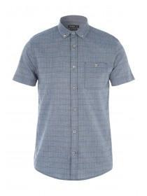 Mens Blue Stripe Shirt