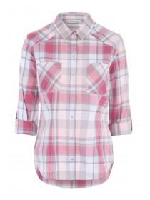 Womens Pink Check Shirt