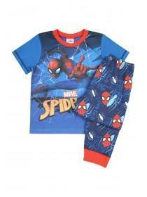 Younger Boys Blue Spider-Man Pyjama Set