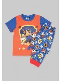 Younger Boys Blue Paw Patrol Pyjama Set