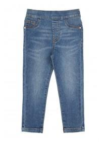 Younger Girls Blue Jeggings