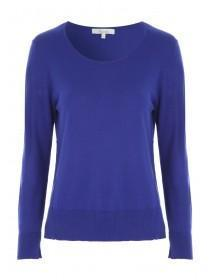 Womens Blue Jumper