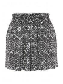 Womens Monochrome Aztec Shorts