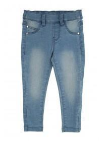 Younger Girls Mid Blue Entry Jeggings