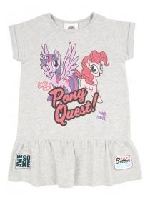 Younger Girls Grey My Little Pony Dress
