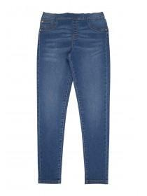 Older Girls Blue Jeggings
