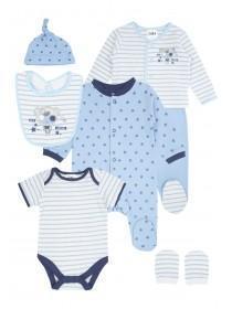 Baby Boys Six Piece Gift Set