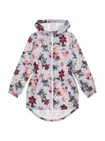 Older Girls Floral Shower Resistant Jacket