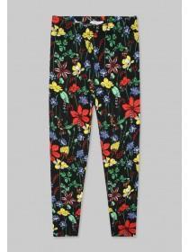 Older Girls Multicolour Floral Leggings
