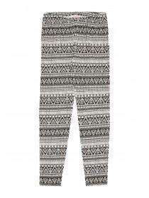 Older Girls Aztec Print Leggings