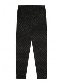 Older Girls Black Spot Leggings