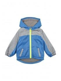Baby Boys Blue and Grey Rain Coat