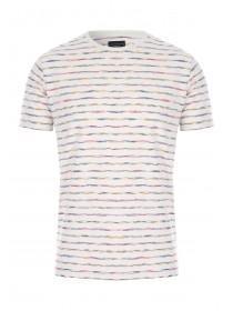 Mens Multicoloured Stripe T-Shirt