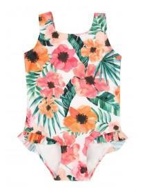 Younger Girls Floral Swimsuit
